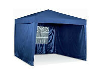 Waterproof Pop-up Garden Gazebo with Side Panels