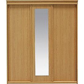 New Hallingford 3 Door Sliding Wardrobe - Oak Effect