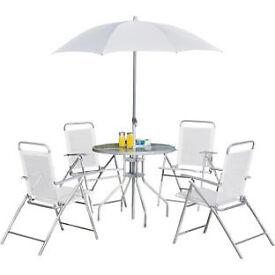 Argos Value Range 4 Seater Patio Furniture Set
