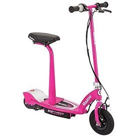 Razor E100S Electric Scooter With Seat - Pink