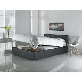 Hygena Lavendon Double Bed Frame - Black