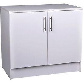 Athina 1000mm Fitted Kitchen Base Unit - White