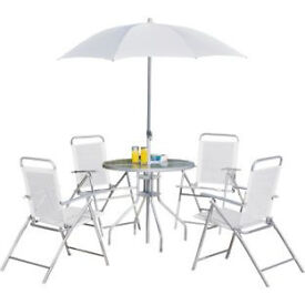 Argos Value Range 4 Seater Patio Furniture Set