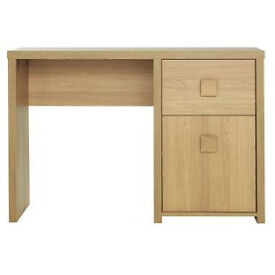 Eden Office Desk - Oak Effect