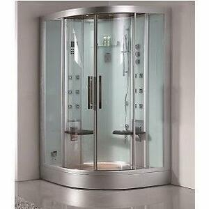 DZ962F8-W Steam Shower 47.25x47.25x89