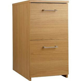 Walton 2 Drawer Filing Cabinet - Oak Effect