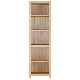 Sicily 4 Shelf Bookcase - Oak Effect