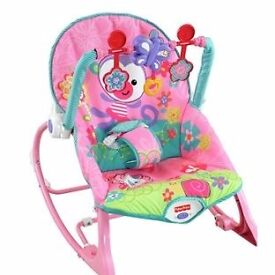 Fisher-Price Rocker Bunnie / new in its box