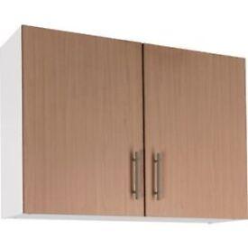 Athina 1000mm Wall Unit - Oak