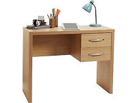 Jarvia Office Desk - Oak Effect