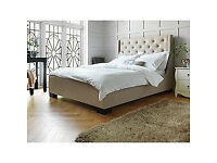 Heart of House Levena Quilted Double Bed Frame