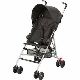 BabyStart Black Pushchair with UV30