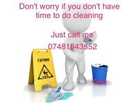 Do you need help with cleaning?