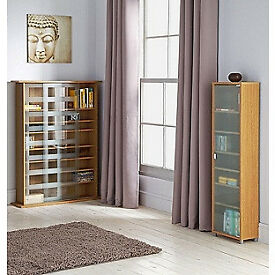 Media Storage Case, Bookcase, Shelves