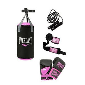 Everlast Womens Punchbag Set