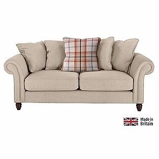 Sofa large (matching cuddle sofa also availablesee seperate adin Norwich, NorfolkGumtree - Sofa, large. Heart of House Windsor Large Fabric Sofa Autumn/Cream. Bought form Argos for £500 (Product code 355/5129). Only used for 3 months, excellent condition. £350