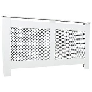 HOME Odell Large Radiator Cabinet - White