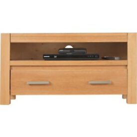 Heart of House Alston TV Unit - Solid Oak
