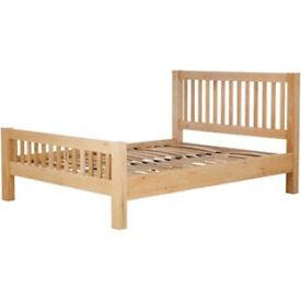 Schreiber Harbury Kingsize Bed Frame - Oak