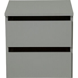 Hygena Bergen 2 Drawer Small Internal Chest - Grey