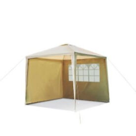 Square Garden Gazebo with Side Panels