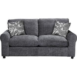 40 Off Homebase Price Tessa Fabric Sofa Bed Charcoal