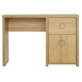 Eden Office Desk - Oak Effect
