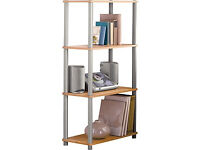 Verona Shelving Unit - Beech Effect