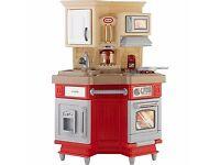 Unisex play kitchen