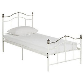 Brynley Single Bed Frame - Ivory