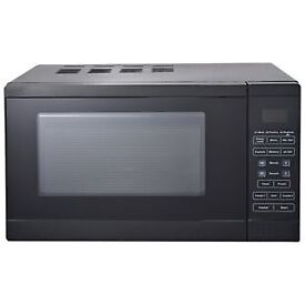 Morphy Richards 800W Grill Microwave D80D- Black