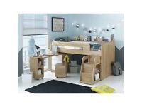 Ultimate Storage Midsleeper Bed