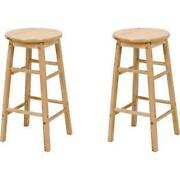 Wood Kitchen Stools
