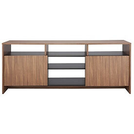Turin Sideboard - Black & Walnut Effect