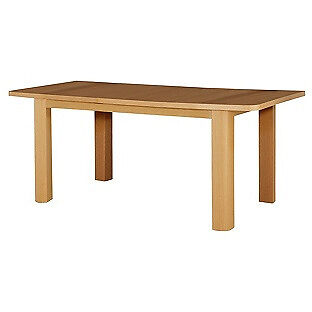HOME Shenley Oak Veneer Extendable Dining Table