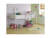 For Sale- White Mid Sleeper Bed Frame, like new