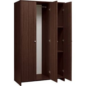 Seville 3 Door Wardrobe - Wenge Effect