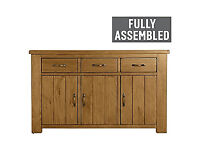 Arizona 3 Door 3 Drawer Sideboard - Solid Pine.