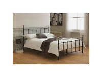 Eversholt Kingsize Bed Frame - Black