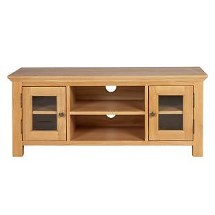 Westminster Oak Large TV Unit