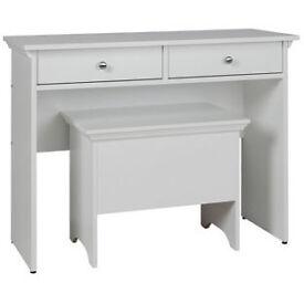 Canterbury Dressing Table - White