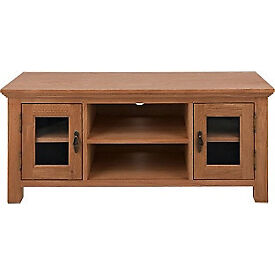 Knightsbridge Large TV Unit - Oak