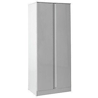 Hygena Inanna 2 Door Wardrobe - White