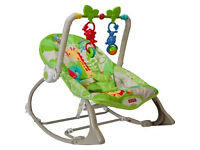 Fisher Price Rainforest baby infant rocker chair