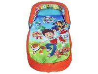 PAW Patrol My First Toddler Readybed Airbed & Sleeping Bag