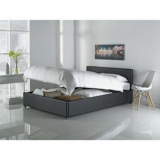 Hygena Lavendon Double Bed Frame - Black