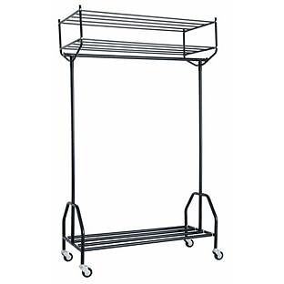 Habitat Alexis Black Metal Clothes Rail
