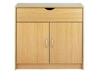 Great Value 2 Door 1 Drawer Sideboard - Oak Effect