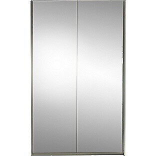 Hygena Bergen Large Sliding Mirror Wardrobe - White