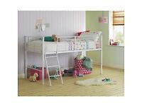 Lucas Mid Sleeper Bed Frame - White